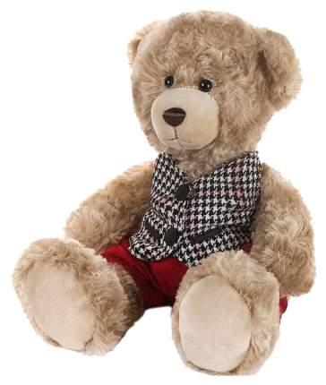 Мягкая игрушка Мишка Ричард в клетчатой жилетке и красных штанишках, 25 см