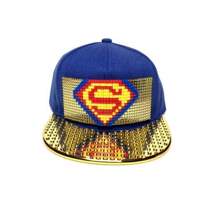 Кепка Kepkastroy Супер человек золотистый козырек