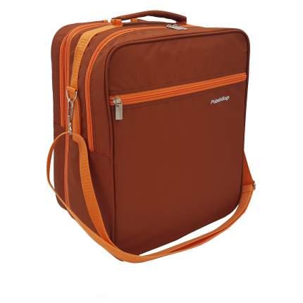 Рюкзак-трансформер для ручной клади Pobedabags 36x30x27 терракот
