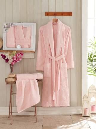 Банный комплект с халатом Philippus Baptist Цвет: Розовый (xxL)