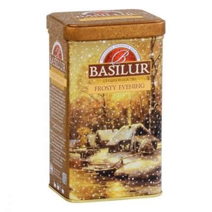 Чай Basilur Праздничная коллекция - Морозный вечер черный с добавками 85 г