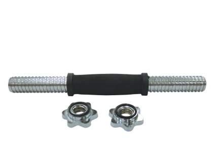 Гриф гантельный H-3119 36 см, 30 мм