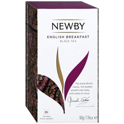Чай черный Newby English Breakfast 25 пак