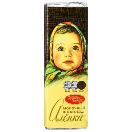 Шоколад Алёнка Молочный 20г
