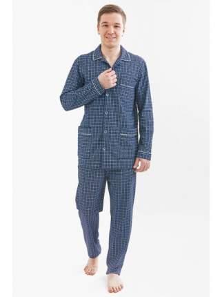 Мужская пижама из кулирки LikaDress 6476 р.48
