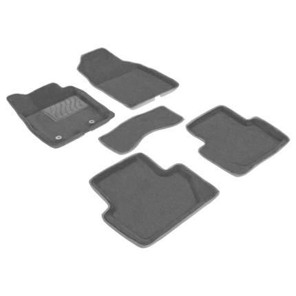 Ворсовые коврики 3D для Infiniti QX50 2007-2015 / 82040-1