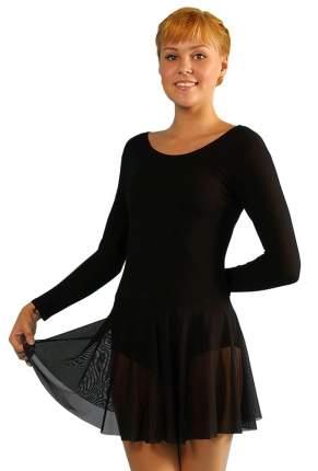Купальник гимнастический Aliera с юбкой для девочки (Г 3.03)-122-черный