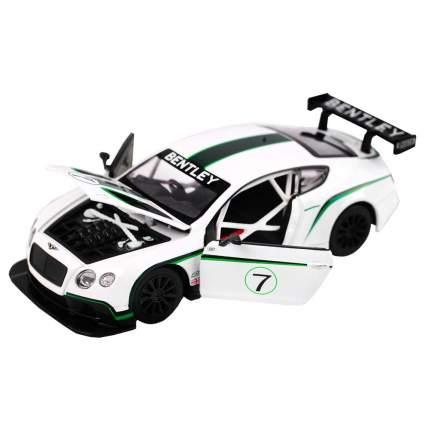 Машинка металлическая Автопанорама Bentley Continental GT3 Concept масштаб 1:24 JB1200125