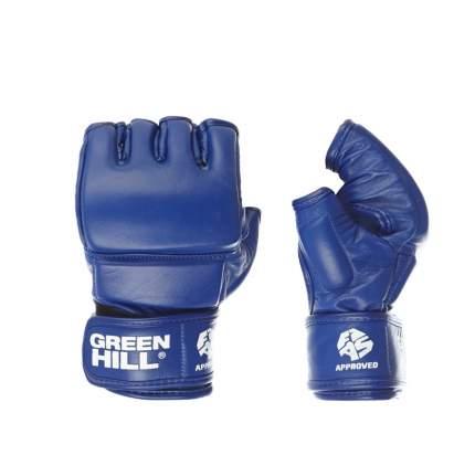 Green Hill Перчатки для боевого самбо Green Hill FIAS Approved (Лицензия FIAS) синие
