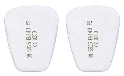 Противоаэрозольный предфильтр 3M™ 5925, Р2, 1 пара