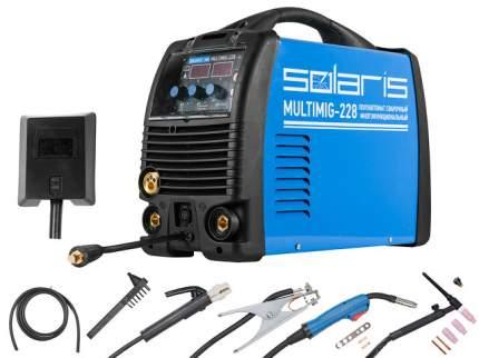 Полуавтомат сварочный Solaris MULTIMIG-228 MIG-MMA-TIG c TIG горелкой