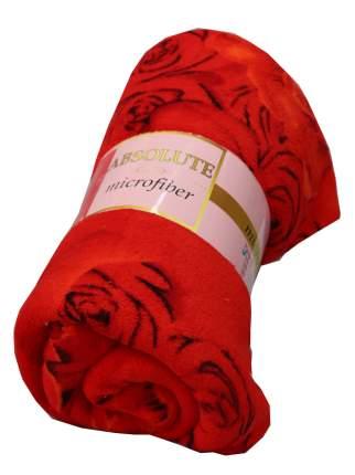 Плед Absolute trc557063 Розы 180x220 см, красный