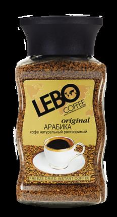 Кофе растворимый Lebo original 100 г
