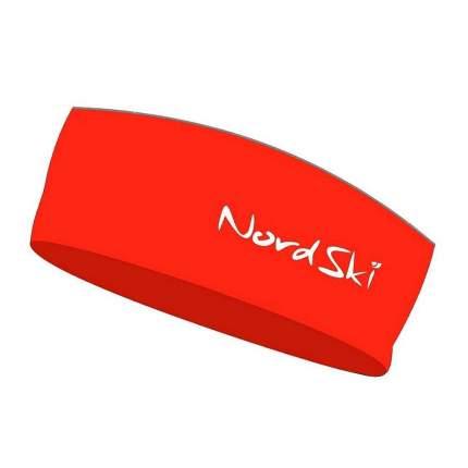 Повязка на голову NordSki Active red