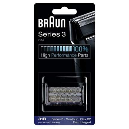 Сетка Braun 31B для бритвы Braun 5000/6000 Black