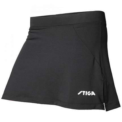 Спортивная юбка STIGA Marine, черная, XS