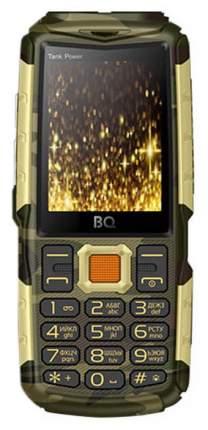 Мобильный телефон BQ 2430 Tank Power Камуфляж+Золото