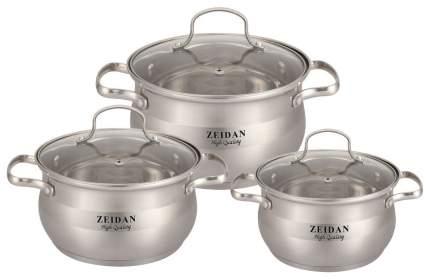 Набор посуды Zeidan Z-50610 Серебристый