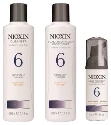 Набор средств для волос Nioxin System 6 Kit 300 мл+300 мл+100 мл