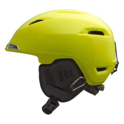 Горнолыжный шлем мужской Giro Edit 2017, светло-желтый, S