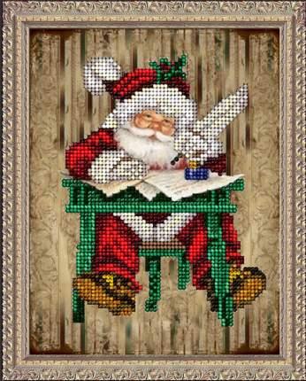 Набор Вышивание ювелирным бисером Краса и творчество 31114 Рождественские истории 3
