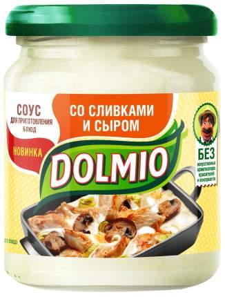 Соус на основе растительных масел Dolmio для приготовления блюд со сливками и сыром