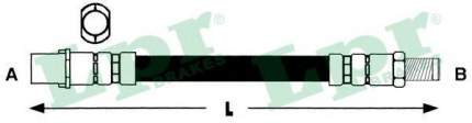 Тормозной шланг Lpr 6T46795