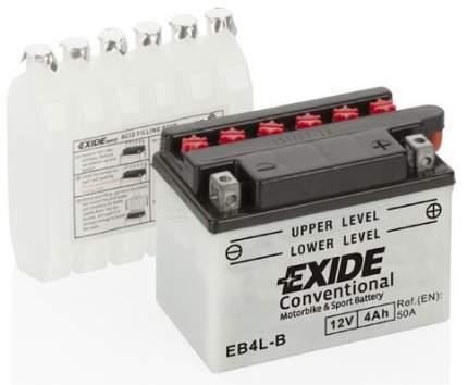Аккумулятор автомобильный EXIDE EB4L-B 4 Ач
