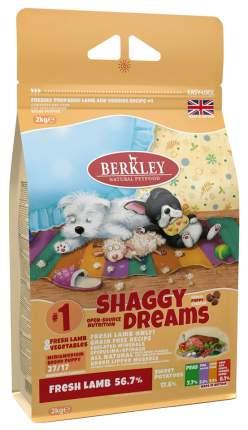 Сухой корм для щенков Berkley Shaggy Dreams №1, ягненок, овощи, фрукты, 2кг