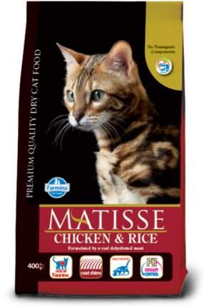 Сухой корм для кошек Farmina Matisse, курица и рис, 0,4кг