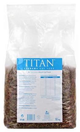 Сухой корм для кошек Titan Complete Adult Cat food, домашняя птица, 10кг