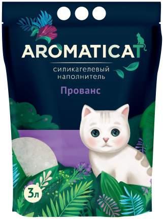 Силикагелевый наполнитель туалета для кошек Aromaticat Прованс AC33