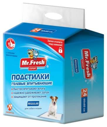 Пеленки для домашних животных Mr.Fresh Regular Exper 90х60 см 16 штук