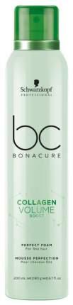 Мусс для волос Schwarzkopf Professional BC Collagen Volume Boost Perfect Foam 200 мл