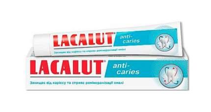 Зубная паста Lacalut Анти-кариес