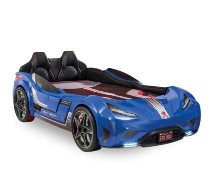 Кровать-машина Cilek Carbed GTS синяя 100х190