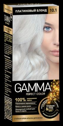 Краска для волос SVOBODA GAMMA Perfect color платиновый блонд 10,1, 50гр