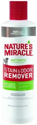 Нейтрализатор органических пятен и запаха Nature's Miracle Dog Stain&Odor Remover 473 мл