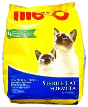 Сухой корм для кошек Me-O Adult Sterile Cat Formula, для стерилизованных, курица, 1,1кг