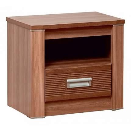 Тумба прикроватная приставная Олимп-мебель Стелла 55x36,4x49,4 см, ясень шимо темный