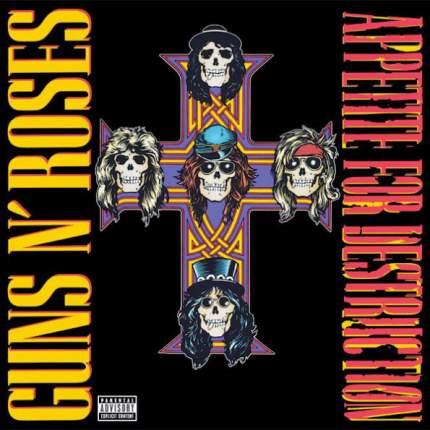 "Виниловая пластинка Guns N' Roses ""Appetite For Destruction"" (LP)"