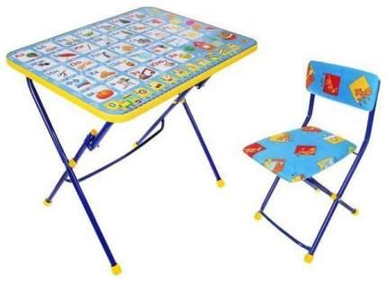 Комплект детской мебели Ника Азбука синий