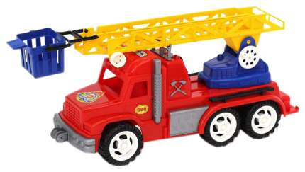 Игрушечная машина Польская пластмасса Пожарная, 55 см