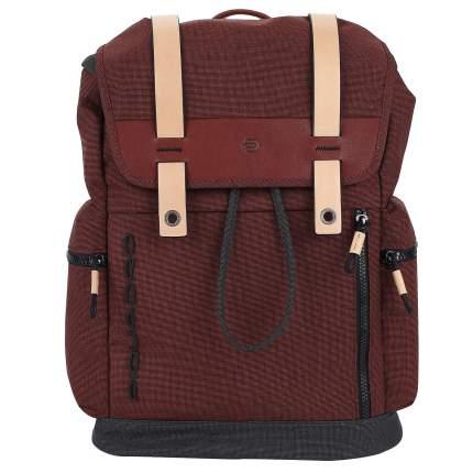 Рюкзак кожаный Piquadro Blade красный