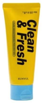 Пилинг для лица Eunyul гель очищающий Clean & Fresh Peeling Gel 120 мл