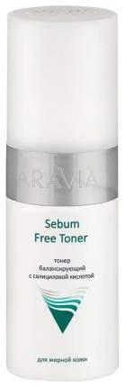 Тоник для лица Aravia professional Sebum Free Toner 150 мл