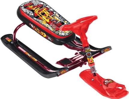 Снегокат Nika Тимка Спорт 5 ТС5 ГК граффити красный