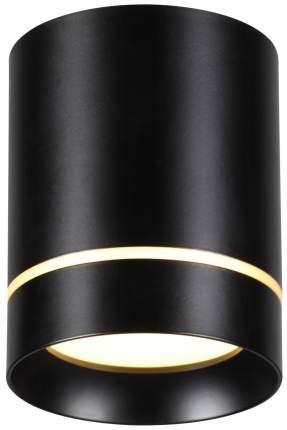 Встраиваемый накладной светодиодный светильник Novotech Arum 357685 Черный