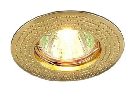 Встраиваемый точечный светильник Elektrostandard 601 MR16 GD a030747 Золото