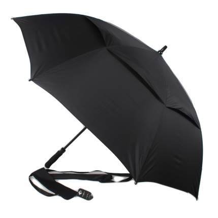 Зонт-трость полуавтомат Flioraj 232300 FJ Антишторм черный